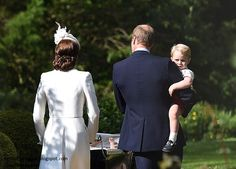 According to royal sources, Prince William wanted the date of the christening to be as close to his mother's birthday as possible - Diana would have been 54 last Thursday.