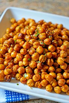 These quick and easy Turkish Roasted Chickpeas are simply addictive - you've been warned! keviniscooking.com