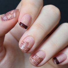 piCture pOlish 'Grace + Demeter' sheer magic nails by The Nail Unique thank you :) www.picturepolish.com.au