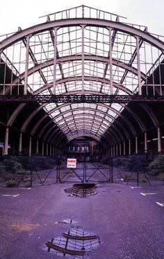 Green Park station, Bath - in the late 1970s, before redevelopment