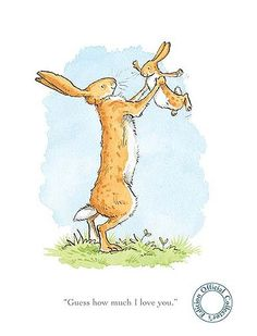 Anita Jeram-GUESS HOW MUCH I LOVE YOU V - Arthouse Gallery