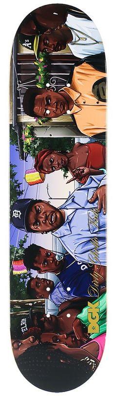 DGK Ghetto Classics Doughboy Deck