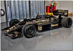 """""""John Player Special Team Lotus"""" Ayrton Senna Lotus Renault 98T #f1"""