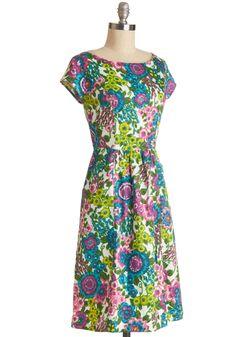 """Pleasant Potpourri Dress, #ModCloth  39""""  $129"""