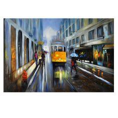 Crestview City Scene 1 Canvas CVTOP2225