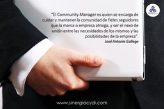 Community manager.