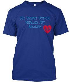 Organ Donation For Heart Transplant   Teespring