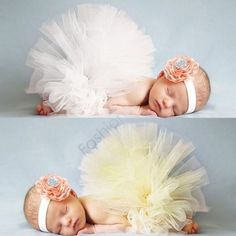 Newborn Yellow Tutu Set #Handmadeitem #HeadbandandTutu