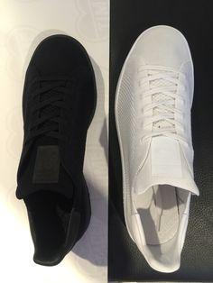 StanSmith Primeknit Black and White