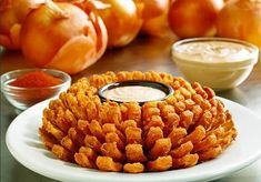 """- Get A FREE Bloomin Onion today only at Outback Steakhouse with any purchase! Just mention """"Bloomin' Monday"""" to get yours! No coupon needed! View more - FREE Bloomin Onion at Outback Today ONLY Appetizer Recipes, Dog Food Recipes, Appetizers, Cooking Recipes, Kosher Recipes, Sauce Recipes, Dinner Recipes, Restaurant Deals, Restaurant Dishes"""