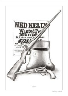 Humorous Bushranger Such Is Life Man Cave Flag Sign Aussie Outlaw Ned Kelly Poster Print Signs Home & Garden