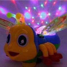 Kids Electric Toys Cute Bee Sing And Dance With Sound Lights for Girls Boys Children Electronic Pets FRee Shipping