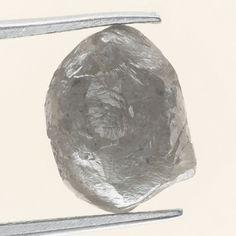 3.22 Ct Fancy Natural Rough Diamond Silver Color Sparking Superb Diamond   eBay