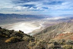 Dantes View Overlook - Death Valley National Park