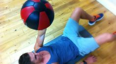 Belly Fat Blaster with a Ball