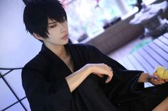 Kyoya Hibari cosplay by KumaQi熊祁 - Reborn (Katekyo Hitman Reborn)
