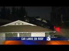 A Glendale man lost control of his vehicle Saturday, sending the car down an embankment and landing on a neighbors roof.  The incident happened about 5:45 p.m. in 400 block of Audraine Drive in Glendale.  After the vehicle came to a stop on the roof, a neighbor rushed over with a ladder, helping the driver and a female passenger off the home.  ...
