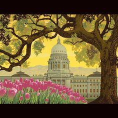 Capitol Building | The Art of Ward Hooper