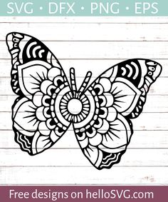 Free Butterfly SVG Files for Cricut - Bing images Cricut Stencils, Free Stencils, Cricut Vinyl, Stencil Templates, Cricut Svg Files Free, Free Svg Cut Files, Svg Files For Scan And Cut, Scan N Cut, Tattoo