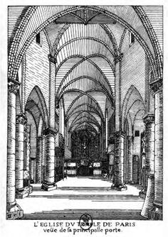 Sainte Marie du Temple - vue à l'intérieur Temple, Sainte Marie, Notre Dame, Roman, Gothic, Hui, History, Architecture, Place