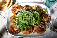 Kereviz Karpaçyo Deli, Vegetable Pizza, Main Dishes, Healthy Eating, Healthy Food, Salads, Food And Drink, Appetizers, Mexican