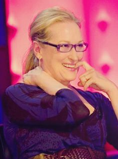 Meryl being as adorable as ever.