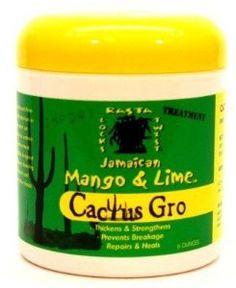 Jamaican Mango and Lime Cactus Gro Treatment, 6 Ounce, 6 Ounce ~~ #dreadlockstreatment #locks #mangolime ~~
