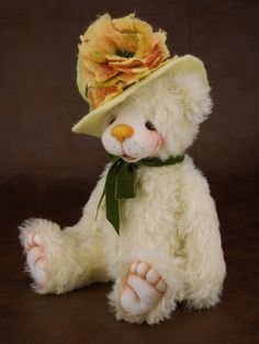 Denver mohair artist teddy bear from Bear Treasures by Melanie Jayne