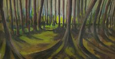 Ashridge Painting by Artist Michael Spark | Art-There
