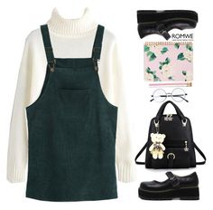 """""""School in the 90's"""" by gabygirafe ❤ liked on Polyvore featuring ban.do and vintage"""