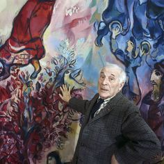 Изображение со страницы http://eatsweatseek.com/wp-content/uploads/2014/09/chagall-as-an-old-man.jpg.