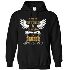 BARBEE Tee - #customized hoodies #mens t shirt. SAVE => https://www.sunfrog.com/Names/BARBEE-Tee-3427-Black-Hoodie.html?id=60505