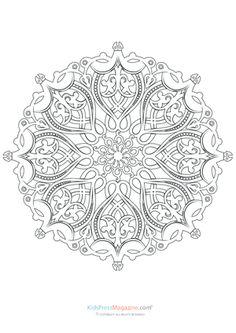 Mandalas for Experts Archives - KidsPressMagazine.com