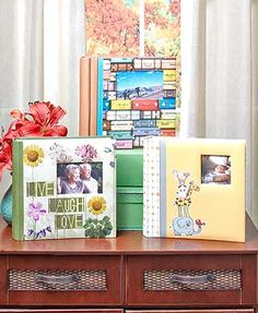 Help your memories last forever with this 200-Photo Album with Memos. The beautifully bound album features coordinating printed pages and crystal-clear poly ove