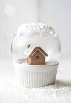 Galletas de jengibre / Ginger biscuits via La receta de la felicidad