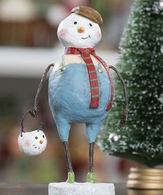 Take a look at this Snowball Figurine by ESC and Company, Inc. on #zulily today!