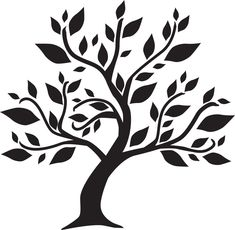 Génial Coût -Gratuit pochoir arbre Concepts, # stromnálepky -strom Step-by-step Sh… Tree Stencil, Stencil Painting, Tree Of Life Art, Tree Art, Black And White Tree, Wall Painting Decor, Tree Templates, Tree Graphic, Wood Burning Patterns