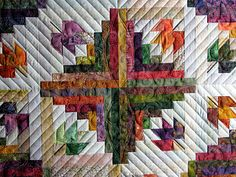 The Secret Life of Mrs. Meatloaf: A quilt for Autumn. Pattern from Judy Martin book.