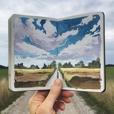 Ideas and inspiration for keeping a travel journal, art journaling, and scrapbook.