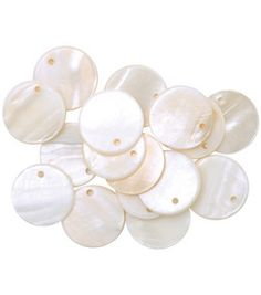 Favorite Findings Shellz Buttons- 3/4'' Round River Dangles: craft & packs of buttons: fasteners & buttons: sewing & quilt: Shop   Joann.com