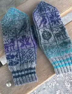 Ravelry: AndChris' mitaines sampler