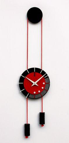 Orologio di parete rotondo piccolo di FcadesignGR su Etsy