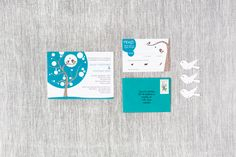 Ayan & Michael - Paper & Poste Custom Invitation Custom Invitations, Paper