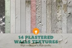 Check out Plastered Walls Collection by Creative Lion on Creative Market