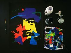 Jimi hendrix #abstract by #jossart   See more: www.jossart.com   Facebook…