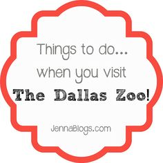 Visiting the Dallas Zoo - TIPS!