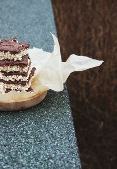 Healthy coconut rice crispies from ninasbaking.blogg.no