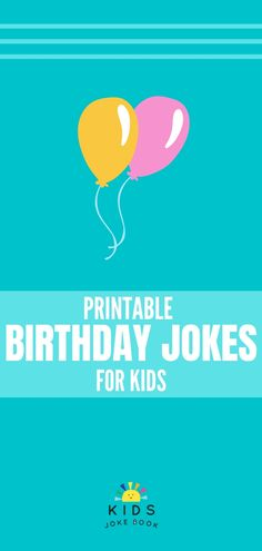Celebrate your child's birthday with these Happy Birthday jokes for kids! Get free printable birthday jokes to put in lunchboxes or in a birthday card! Funny Birthday Jokes, Happy Birthday Funny Humorous, Jokes And Riddles, Good Jokes, Kids Birthday Cards, Jokes For Kids, Kids Cards, Joke Book, Hilarious