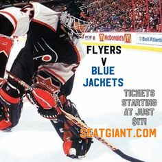 Come one come all to watch the hottest team in the #NHL right now! The #PhiladelphiaFlyers host the #ColumbusBlueJackets at the Wells Fargo Center tonight! #seatgiantphilly has the cheapest tickets starting at only $17!!!! Link in bio to watch the #FlyGuys chase that number 1 spot! #wehavetickets