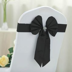 "Plum Purple Wedding Party wq 50 pcs Satin Chair Cover Bow Sash 108/""x8/"""